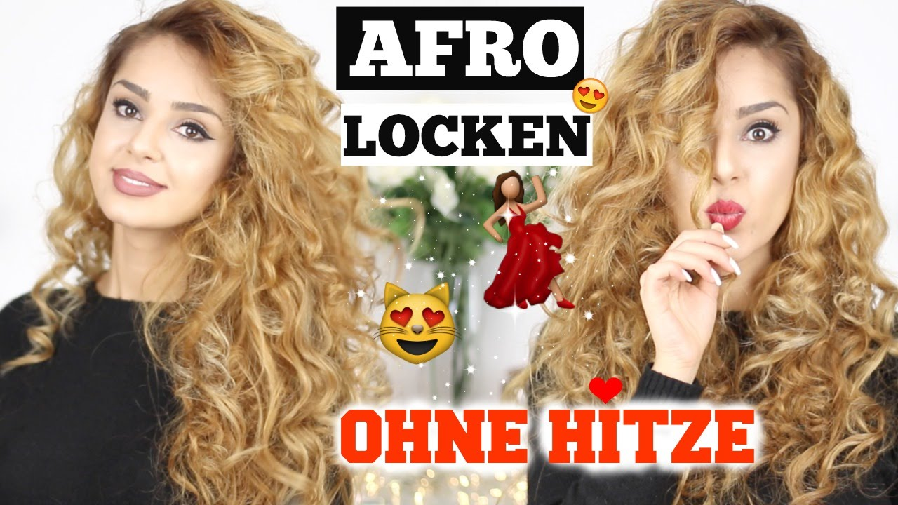 AFROLOCKEN OHNE HITZE   YouTube