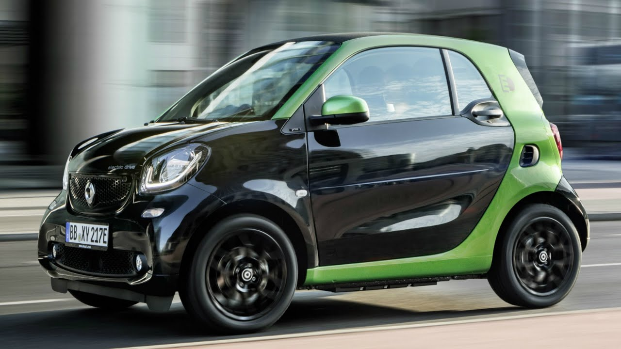 2016 Smart Fortwo Electric Drive Coupe And Design