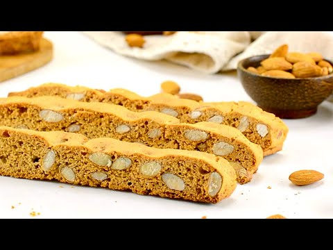 Keto Almond Biscotti Recipe Low Carb Italian Cookies 2g Net Carbs (Easy Bake)