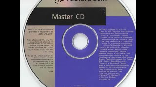 Packard Bell Master CD and Recovery & Restore Diskette Issues (FIXED)