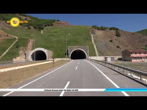 Erzincan Erzurum Arası Yol Safari 4K UHD