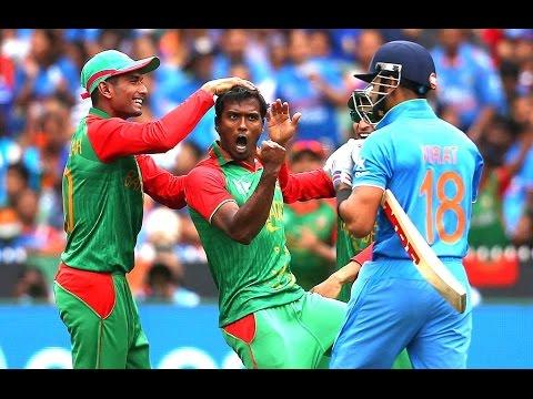 INDIA VS BANGLADESH 2015  WORLD CUP INDIA BATTING REVIEW# QUARTER-FINAL #