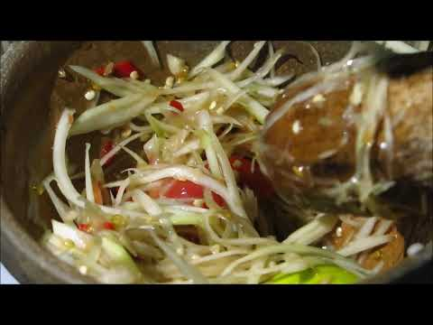 Papaya Salad - Som Tum Laos  Food Recipe