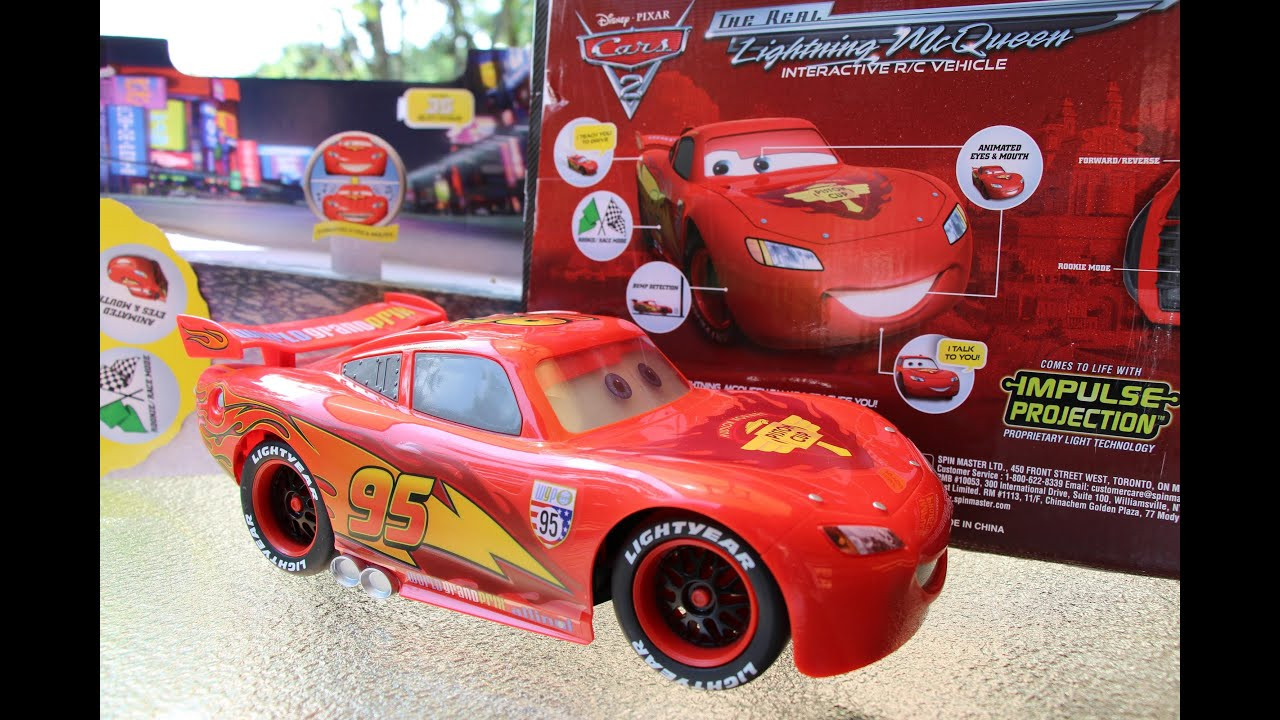 Interactive Lightning Mcqueen R C Cars 2 Air Hogs Real
