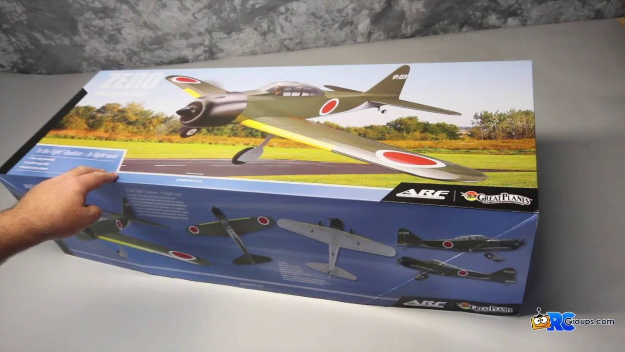 Great Planes Zero Sport Fighter - RCGroups Unboxing Review