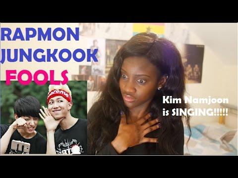 BTS (방탄소년단) RAPMONSTER (랩몬스터) & JUNGKOOK (정국) - FOOLS Cover FIRST LISTEN CUTS
