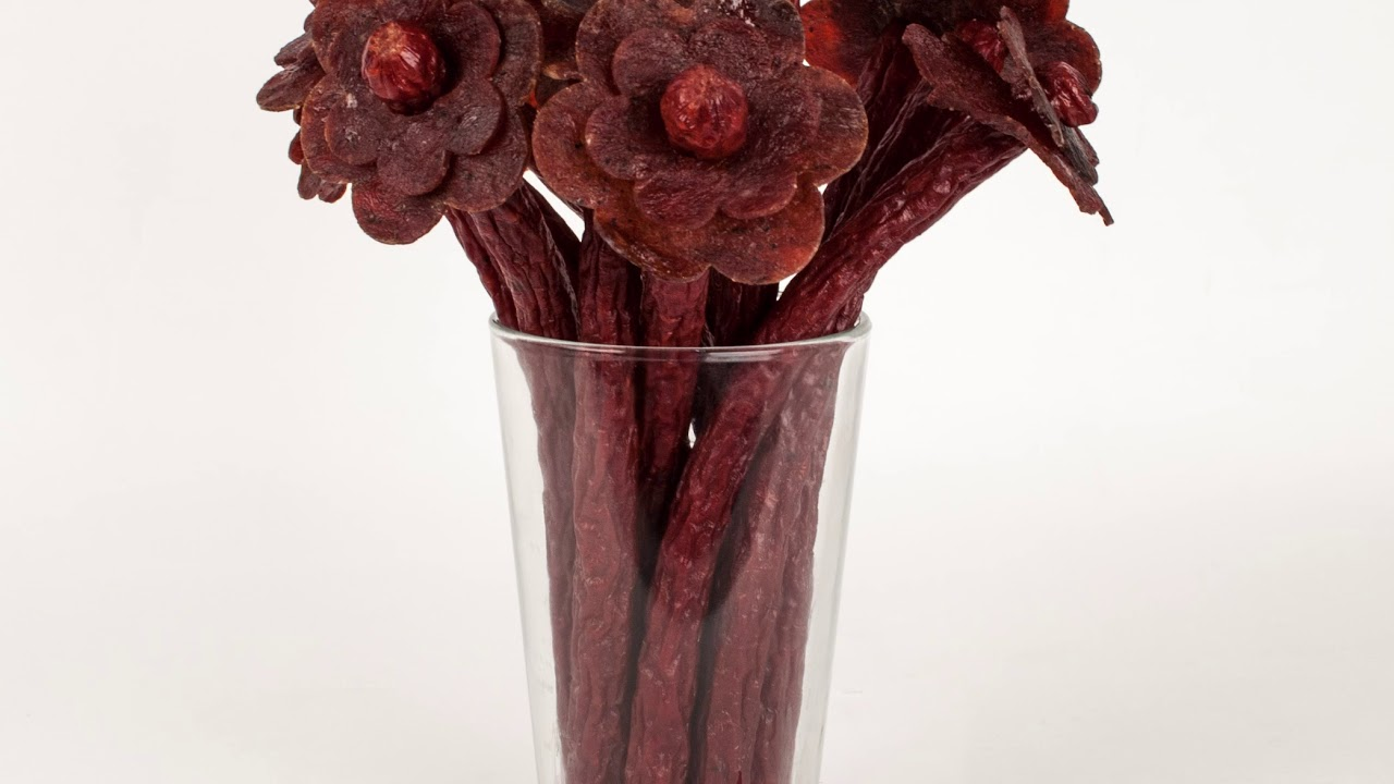 Beef Jerky Flower Bouquets By The Manly Man Company Youtube
