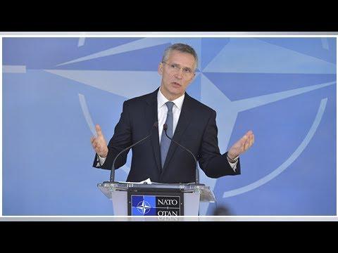 NATO Chief Condemns Kabul Bombing