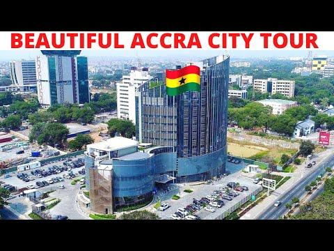 BEAUTIFUL ACCRA CITY TOUR 😲|| PRINCIPAL STREETS || GHANA IS A BEAUTIFUL PLACE