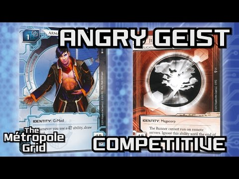 Android: Netrunner // Angry Geist vs. Replicating Perfection - Competitive