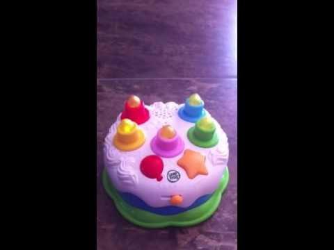 LeapFrog Birthday Cake Counting Candles