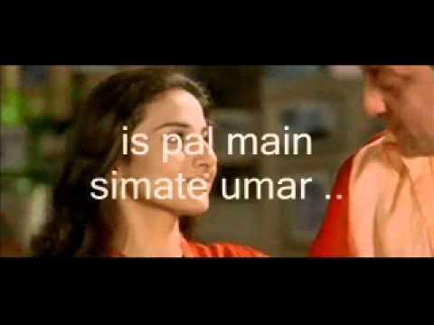 Pal Pal Har Pal-instrumental & Lyrics-Lago Rahe Munnabhai