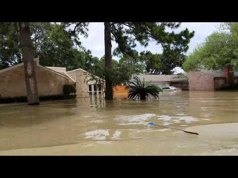 Bear Creek Village Flooding from Hurricane Harvey 8/30/2017