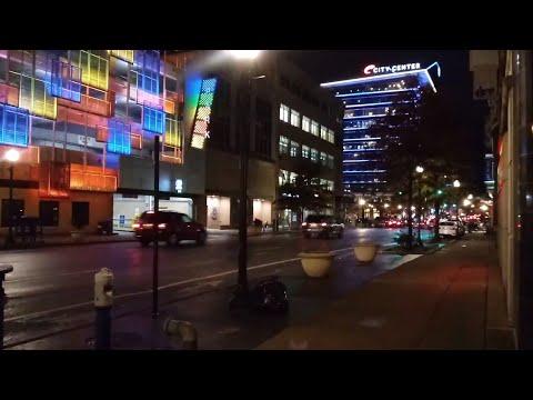 Downtown Lexington Kentucky Night Time.USA