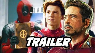 Once Upon A Deadpool Trailer - Avengers Marvel Easter Eggs and Jokes
