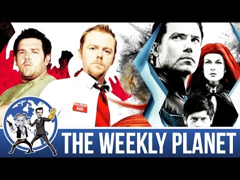 Cornetto Trilogy & The Inhumans Trailer - The Weekly Planet Podcast