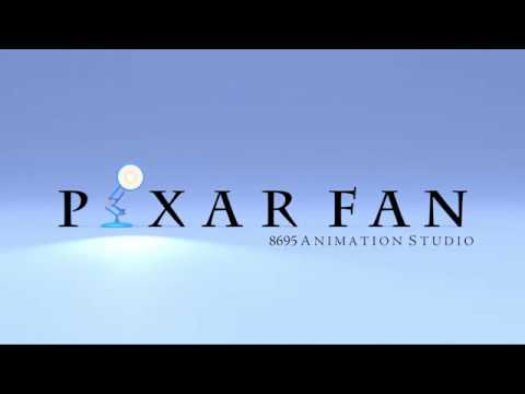 PixarFan 8695 Animation Studio Logo (Updated Version)