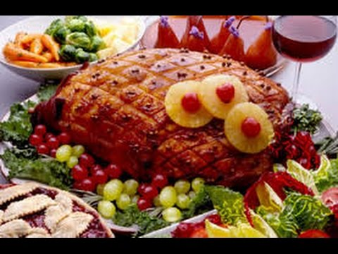 receta para preparar jamn glaseado para navidad receta de jamn al horno youtube