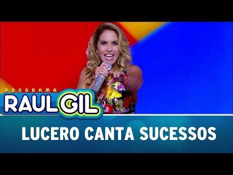 Lucero Anima Plateia Cantando Sucessos | Programa Raul Gil (16/09/17)