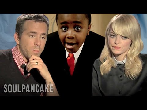 Kid President, Emma Stone, Ryan Reynolds & Nic Cage Help a Kid!