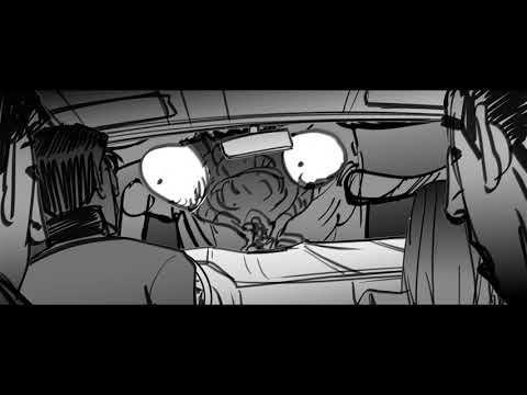 Animatic/Storyboard Praying Mantis Attack Scene From Goosebumps