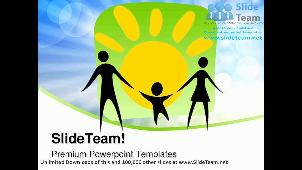 Happy Parents And Child Family PowerPoint Templates Themes And Backgrounds  ppt layouts