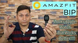 Amazfit Bip Unboxing & Full Review   Apple Watch Saste Mein??