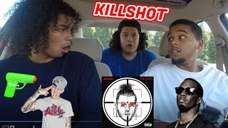 EMINEM - KILLSHOT [OFFICIAL AUDIO] MGK DISS BEEF RESPONSE (REACTION REVIEW)