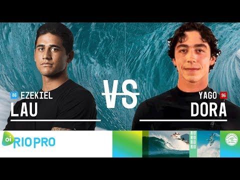 Yago Dora vs. Ezekiel Lau - Quarterfinals, Heat 4 - Oi Rio Pro 2018