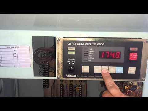 Ozelmarine Tokimec TG6000 Gyrocompass