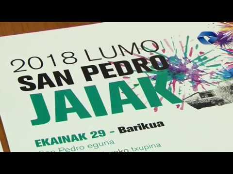 Gernika-Lumoko San Juan Ibarra, Lumo eta Agarre auzoetako jaien egitarauak aurkeztu ditu