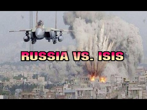 RUSSIA ATTACKING ISIS IN SYRIA, WITHOUT MERCY. 2015.