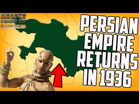 Persian Empire and Roman Empire Return! Hearts of Iron 4 HOI4