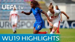Womens Under-19 Highlights: France 3-1 Switzerland