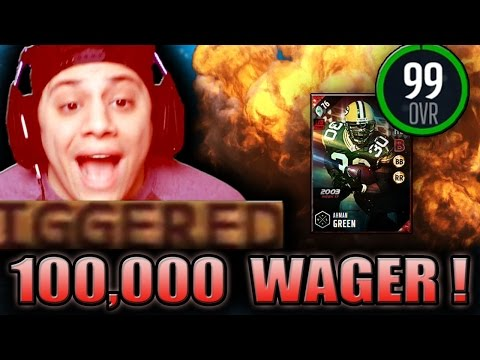 ALL THESE GAWD DAMN BAILOUTS! (99 AHMAN GREEN GAMEPLAY) - MADDEN 17 ULTIMATE TEAM