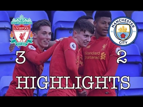 Liverpool U23 vs Manchester City U23 • Full Highlights 3:2