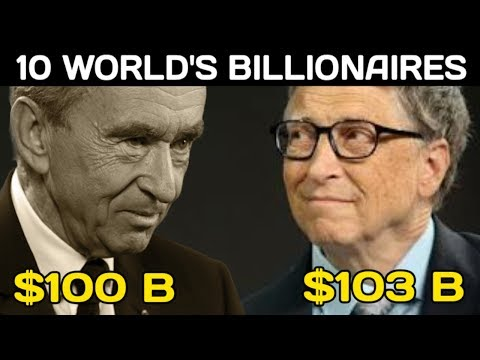 Top 10 Billionaires People In The World 2019