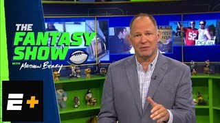Matthew Berry explains fantasy football strategy for wide receivers | The Fantasy Show | ESPN