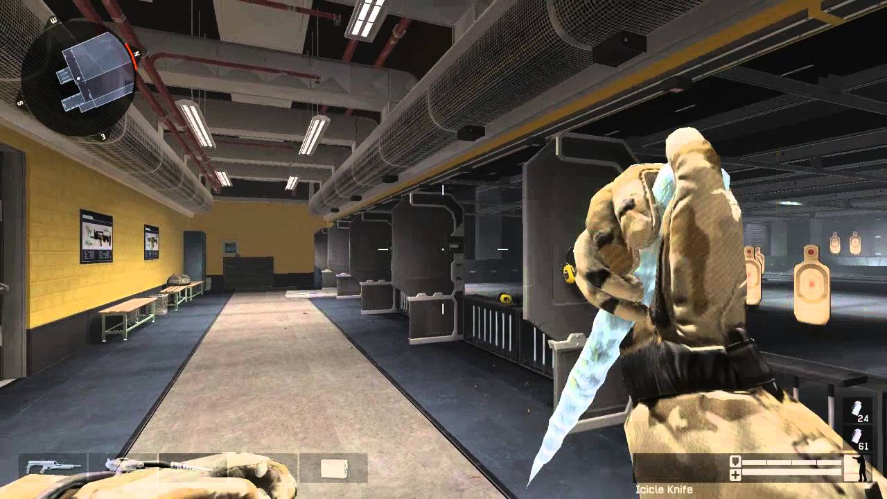 warface icicle knife in safehouse youtube