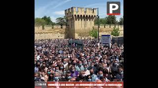 Hommage à Éric Masson : les Avignonnais entonnent La Marseillaise