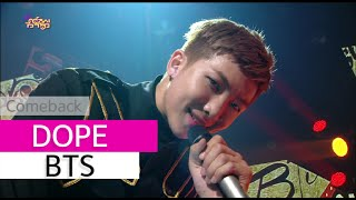 Gambar cover [Comeback Stage] BTS - DOPE, 방탄소년단 - 쩔어, Show Music core 20150627