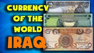 Currency of the world - Iraq. Iraqi dinar. Exchange rates Iraq.Iraqi banknotes and Iraqi coins