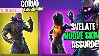 SKIN CORVO FORTNITE SVELATO! NUOVE *SKIN* Fortnite Battle Royale #boogiedown