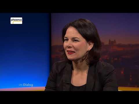 Im Dialog: Annalena Baerbock im Gespräch mit Michael Hirz am 11.01.2018