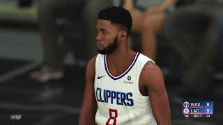 NBA 2K20 - Washington Wizards vs Los Angeles Clippers