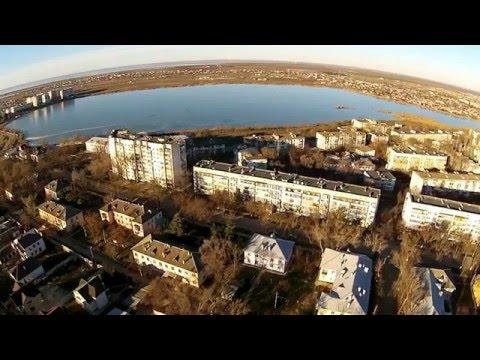 Город Саки/ Крым с высоты