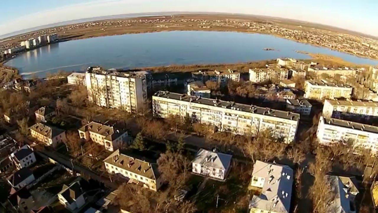 Город Саки/ Крым с высоты - YouTube