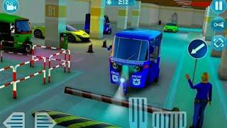 🛺Police Tuk Tuk 🛺Auto Rickshaw Driving Game 2021🛺 screenshot 1