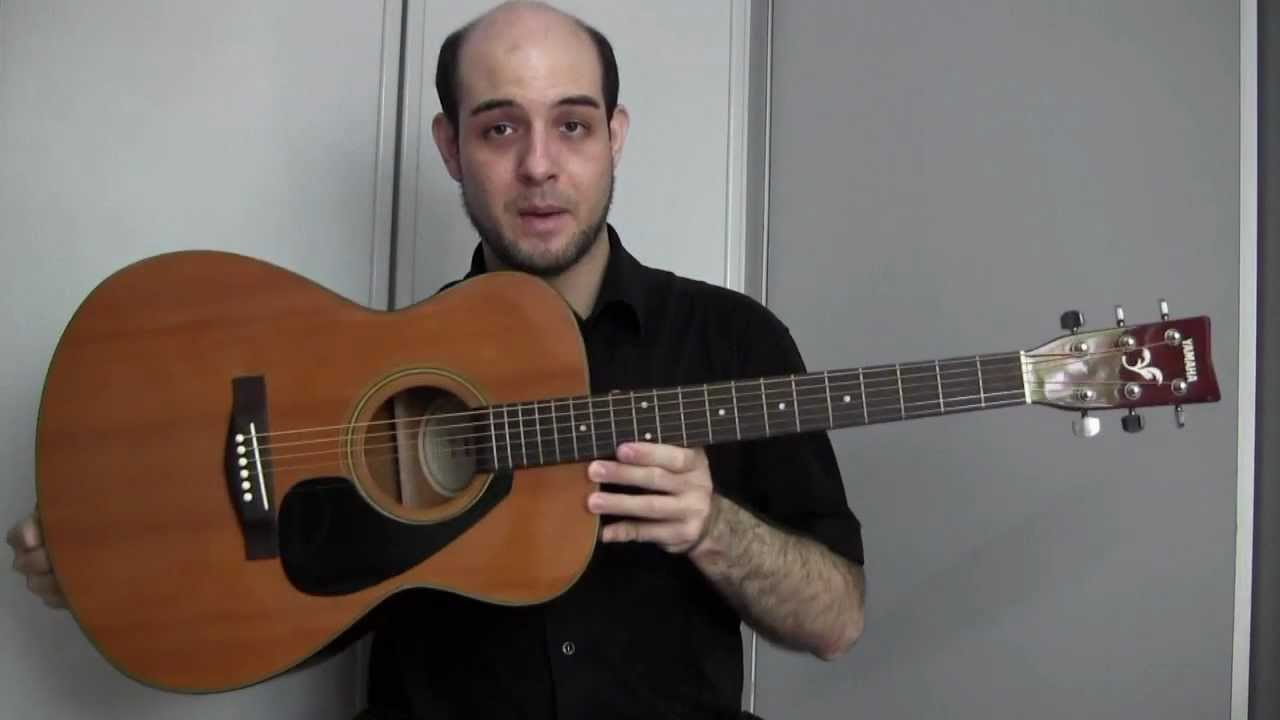 Yamaha fs 340 acoustic guitar review youtube for Yamaha fs 310 guitar