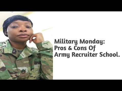 Military Monday: Pros & Cons Of Army Recruiting School || Fort Knox Kentucky